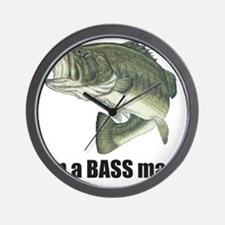 bass man Wall Clock