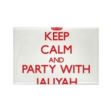 Keep Calm and Party with Jaliyah Magnets