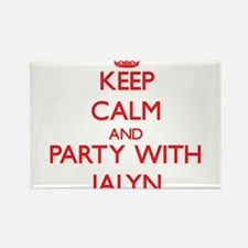 Keep Calm and Party with Jalyn Magnets