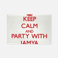 Keep Calm and Party with Jamya Magnets