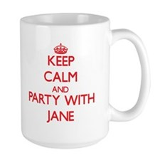 Keep Calm and Party with Jane Mugs