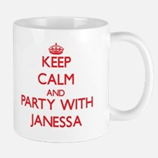 Keep Calm and Party with Janessa Mugs