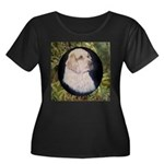 Clumber Spaniel Hunter Women's Plus Size Scoop Nec