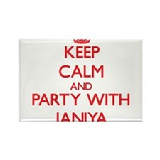 Keep Calm and Party with Janiya Magnets