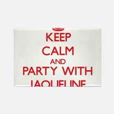 Keep Calm and Party with Jaqueline Magnets