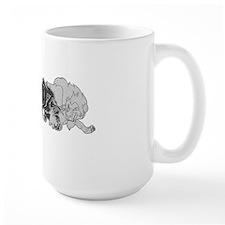 scar, black'n'white Mug