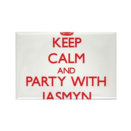 Keep Calm and Party with Jasmyn Magnets