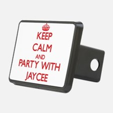 Keep Calm and Party with Jaycee Hitch Cover