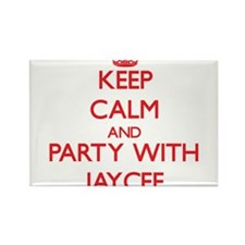 Keep Calm and Party with Jaycee Magnets
