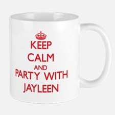 Keep Calm and Party with Jayleen Mugs
