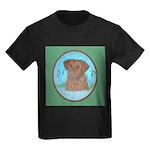 Nova Scotia Duck Toller Kids Dark T-Shirt