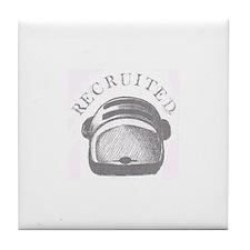 Recruited Tile Coaster