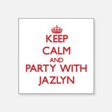 Keep Calm and Party with Jazlyn Sticker