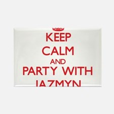 Keep Calm and Party with Jazmyn Magnets