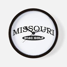 Missouri Disc Golf Wall Clock