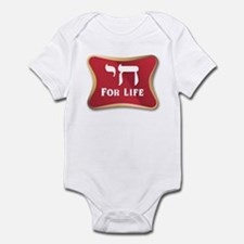 Chai For Life Infant Bodysuit