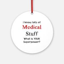 medical stuff Ornament (Round)