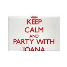 Keep Calm and Party with Joana Magnets