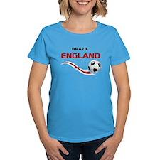 Soccer 2014 ENGLAND 1 Tee