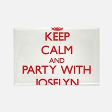Keep Calm and Party with Joselyn Magnets