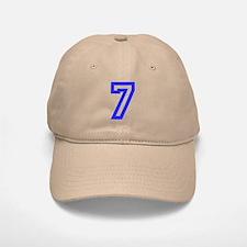 #7 Baseball Baseball Cap