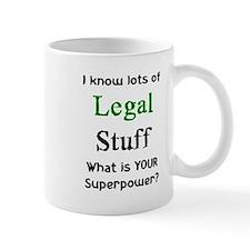legal stuff Small Mugs