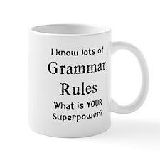 grammar rules Mug