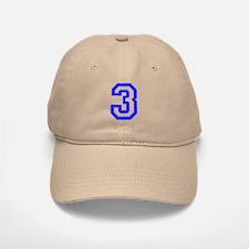 #3 Baseball Baseball Cap