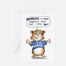 Cartoon Abrahamster Greeting Cards (Pk of 10)