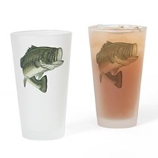 big bass Drinking Glass