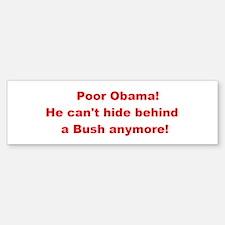 No More Bush! Sticker (Bumper)