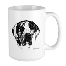 Happiness is a Rescued Dane Mugs