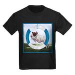Agility German Shorthair Poin Kids Dark T-Shirt