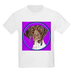 German Shorthair Pointer Head T-Shirt