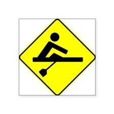 Rower Crossing Sticker