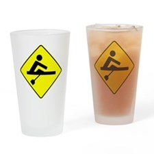 Rower Crossing Drinking Glass