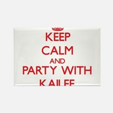 Keep Calm and Party with Kailee Magnets