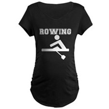 Rowing Maternity T-Shirt