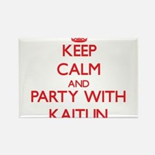 Keep Calm and Party with Kaitlin Magnets