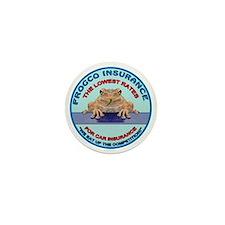 Frogco Insurance Logo Mini Button