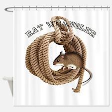 ratwrangler.png Shower Curtain