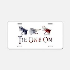 AMERICAN FLY FISHING Aluminum License Plate