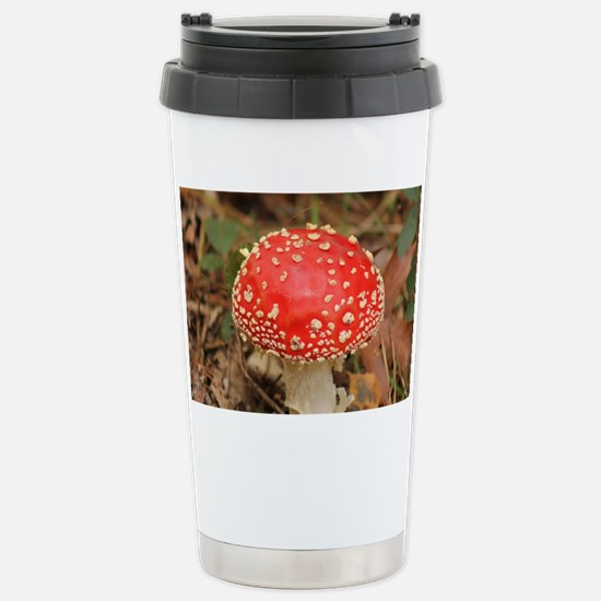 FlyAgaric010 Stainless Steel Travel Mug