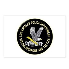 LAPD SWAT Postcards (Package of 8)