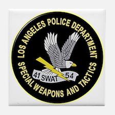 LAPD SWAT Tile Coaster