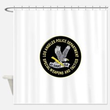 LAPD SWAT Shower Curtain