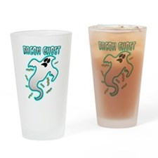 Bacon Ghost Drinking Glass