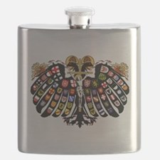Holy Roman Empire Coat of Arms Flask