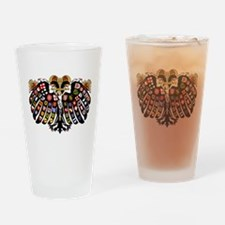 Holy Roman Empire Coat of Arms Drinking Glass