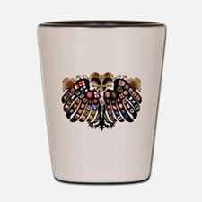 Holy Roman Empire Coat of Arms Shot Glass